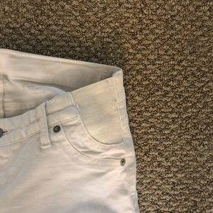 GAP Jeans - GAP white side panel maternity jeans